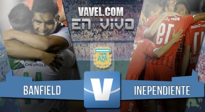 Banfield 1-3 Independiente: El Rojo dio pelea y golpeó al Taladro