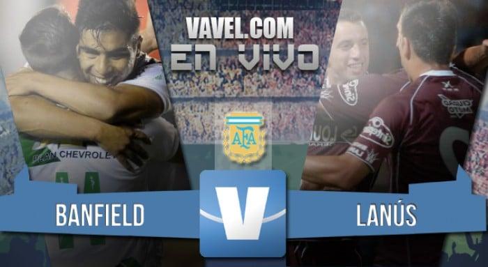 Resumen Banfield 0-2 Lanús en Torneo Transición 2016