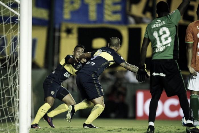 Boca Juniors vence Banfield no primeiro jogo pós-greve do futebol argentino