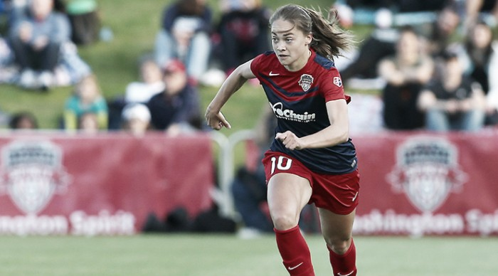 Estefania Banini returns to the Washington Spirit