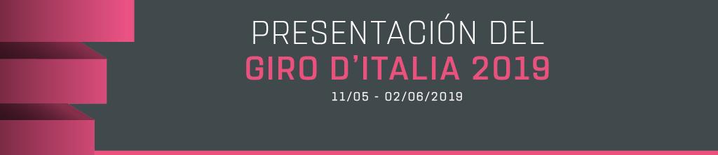 Presentación Giro de Italia 2019