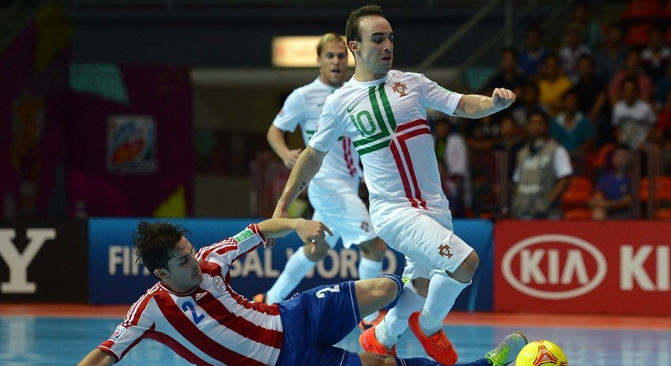 Portugal es la primera cuartofinalista tras golear a Paraguay