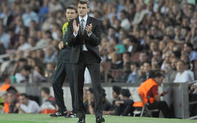 """Tito Vilanova: """"Sabíamos que no sería fácil"""""""