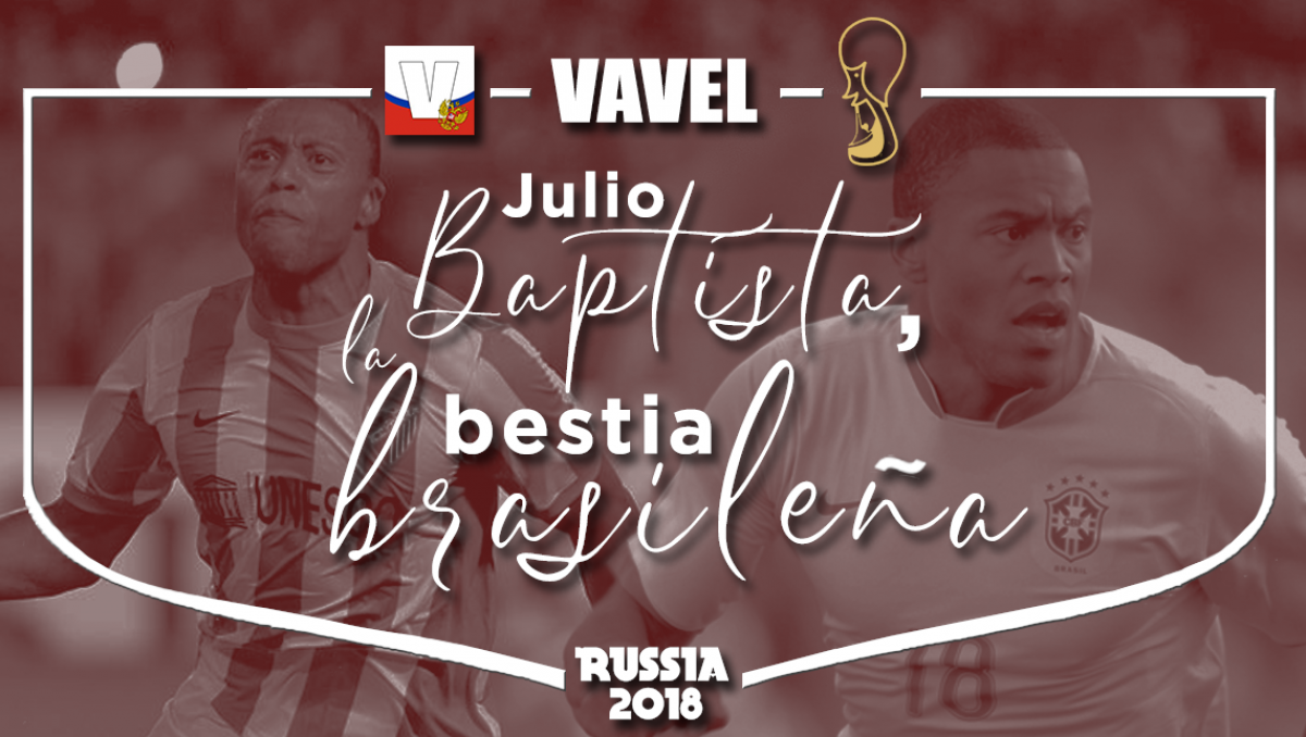 Julio Baptista, la bestia brasileña