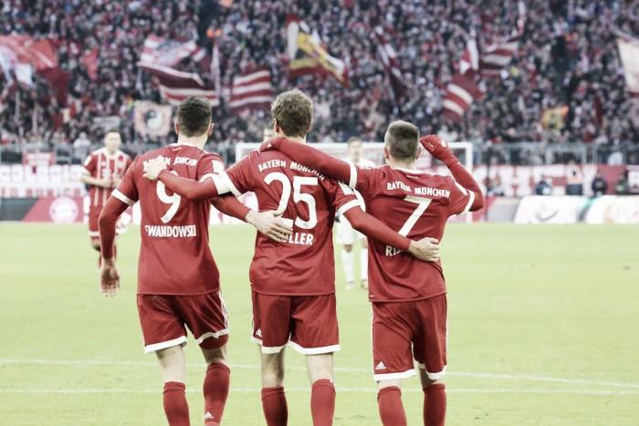 El Bayern Múnich sufre, pero como suele pasar, gana de local