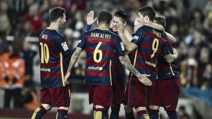 Liga, il Barça risponde all'Atletico con un'altra goleada