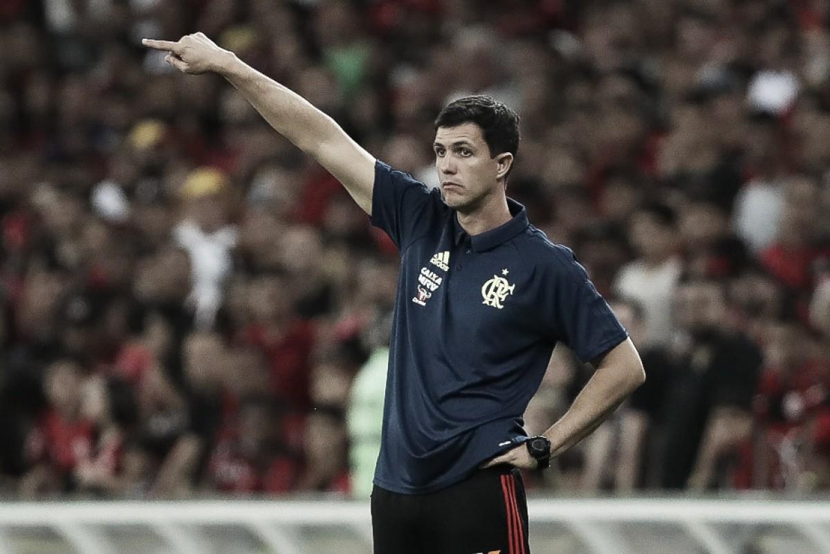 """Em harmonia com grupo e torcida, Barbieri destaca atuação do Flamengo: """"No caminho certo"""""""