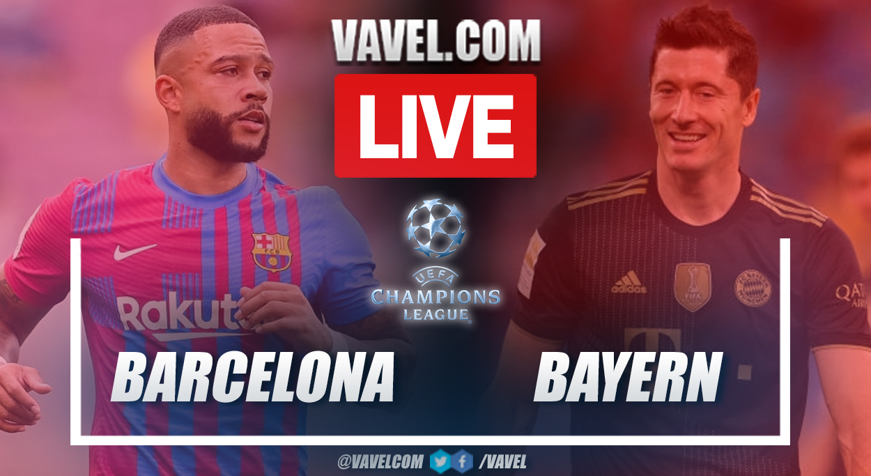 Goals and Highlights: Barcelona 0-3 Bayern Munich in UEFA Champions League 2021-22