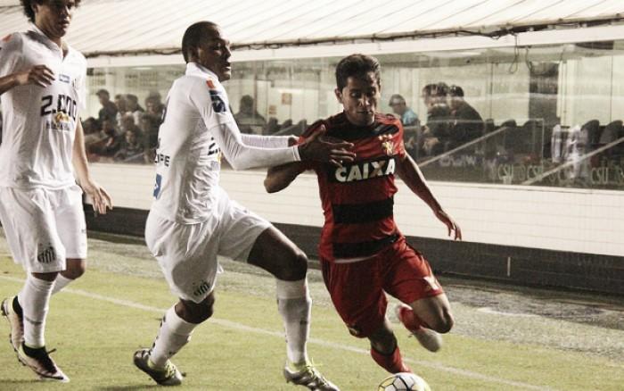 Com homenagem a Magrão, Sport e Santos fazem duelo de opostos