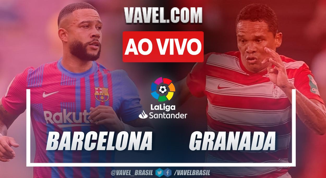 Gols e melhores momentos de Barcelona 1 x 1 Granada pelo Campeonato Espanhol