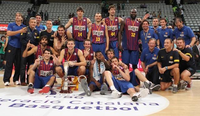 La Lliga Catalana es del Barça