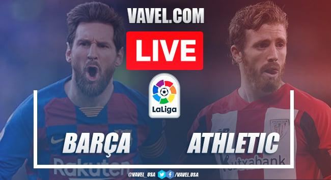 Goals and Highlights: Barcelona 1-0 Athletic Bilbao in 2020 La Liga