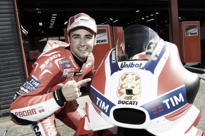 Barberá volverá a pilotar la Ducati de Ianonne en Australia