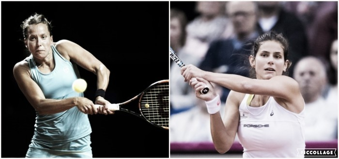 WTA Prague first round preview: Barbora Strycova vs Julia Goerges