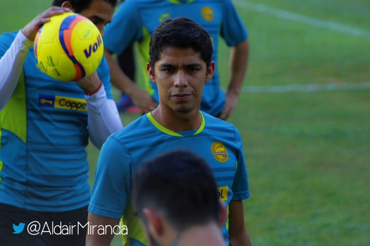 Diego Barbosa buscará ascender con Dorados de Sinaloa