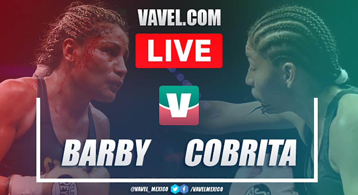 Resumen de la victoria por decisión unánime de Cobrita Luna a Barby Juárez en Box 2020