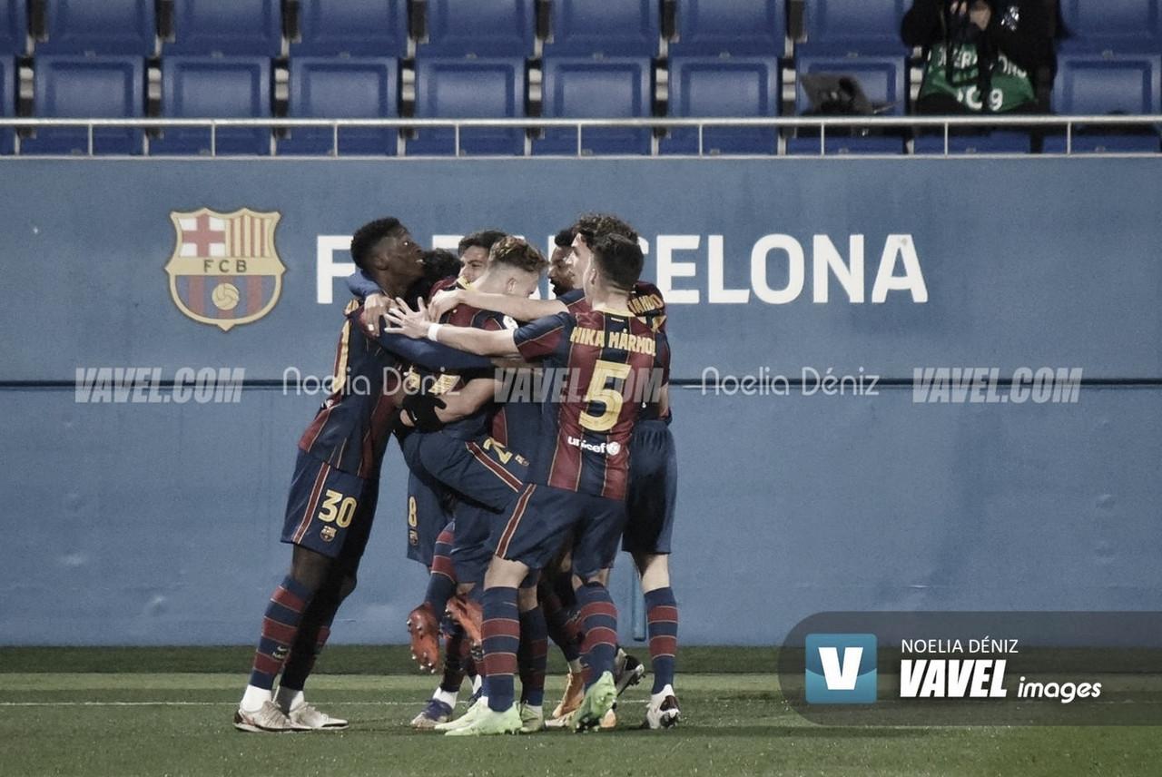 Resumen Espanyol B 0-1 Barça B en Segunda B