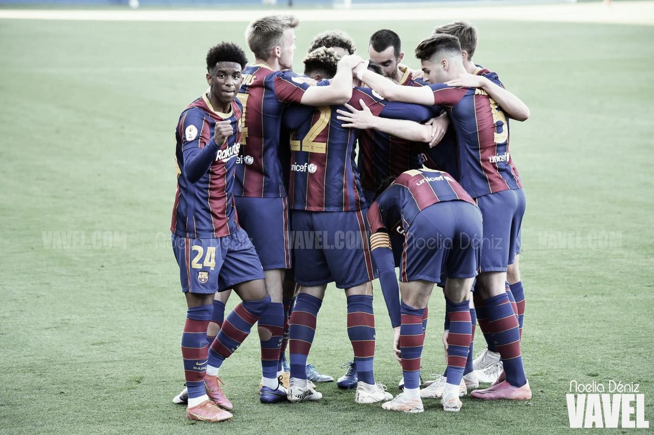 El Barça B cierra la segunda fase con goleada 3-4