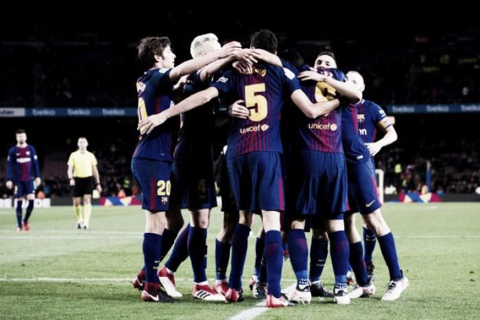 Barcelona vence Valencia com gol solitário de Suárez e sai na frente pelas semifinais da Copa do Rei