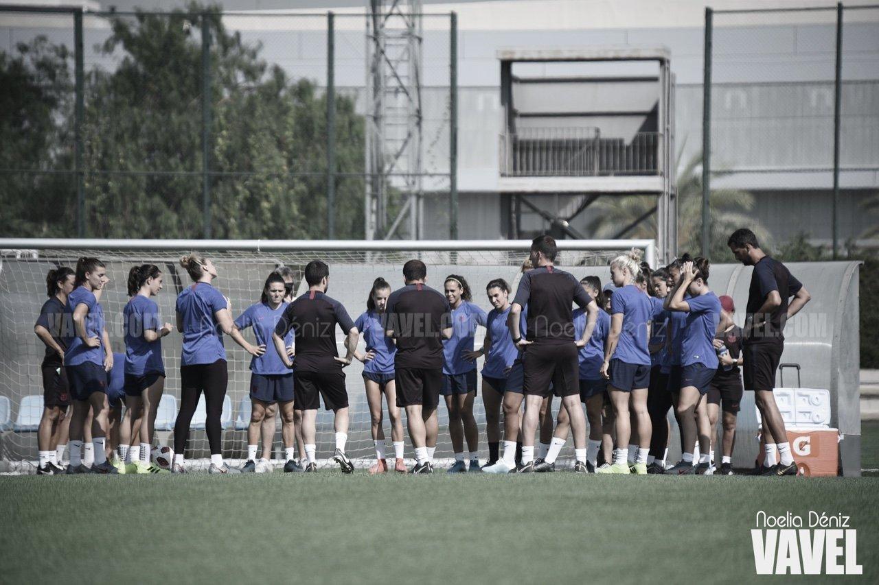 El FC Barcelona Femenino sigue con su pretemporada