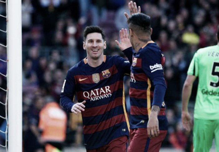 Barcelona goleia Getafe