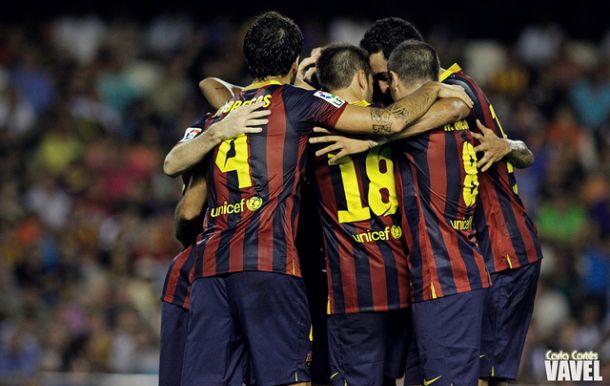 Doppio Neymar e il Barcellona esulta