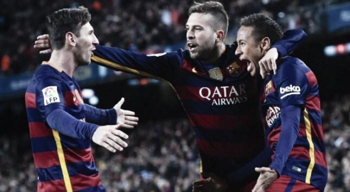 Barcelona goleia Celta de Vigo e volta a isolar-se no primeiro lugar