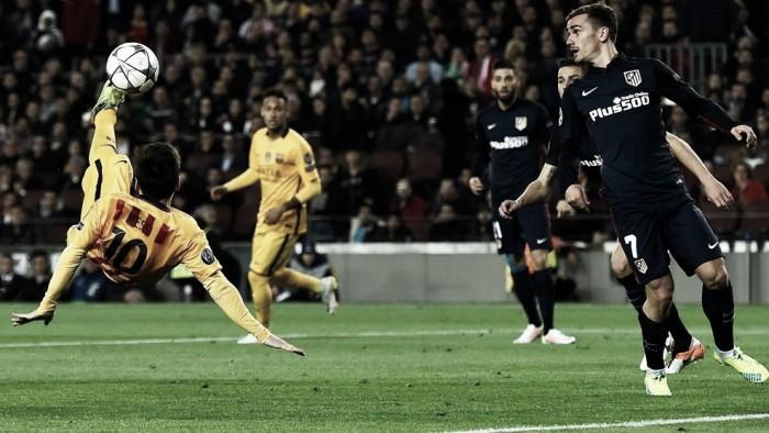 Atlético Madrid x Barcelona:que vença o melhor