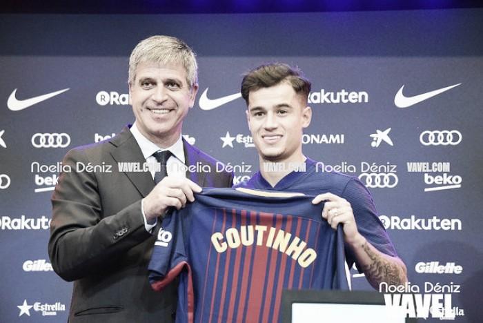 """Bartomeu 'agradece' Liverpool por Coutinho e afirma: """"Contratamos um dos melhores do mundo"""""""