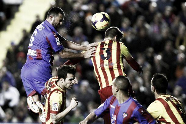 Barcellona bloccato dal Levante, ma l'Atletico non ne approfitta