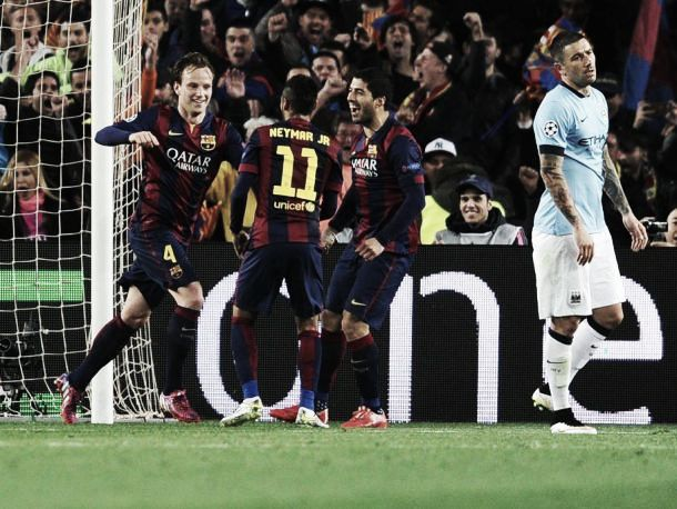 Barcelona 1-0 Manchester City (3-1 agg): Last English Club knocked out as Barça qualify for quarter-finals