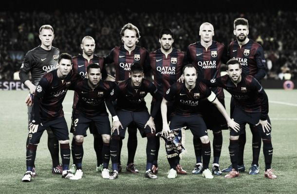 Barcelona's journey to the 2015 UEFA Champions League Final