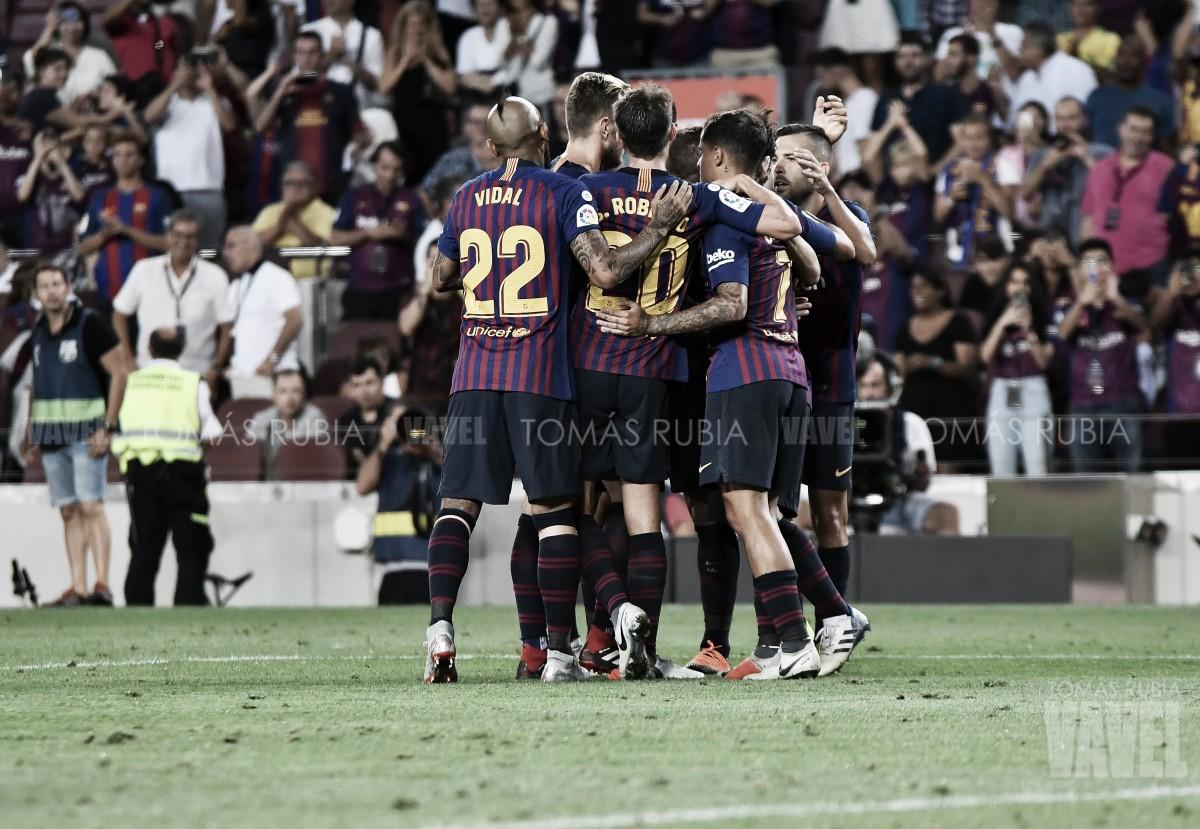 El FC Barcelona lleva 38 partidos sin perder en el Camp Nou en Liga