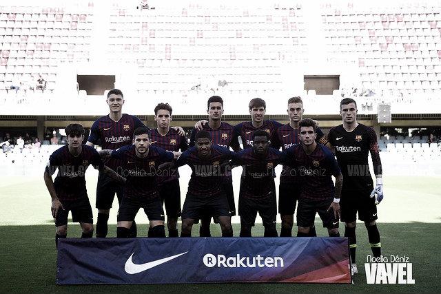 Las promesas del Barça B piden paso en el primer equipo