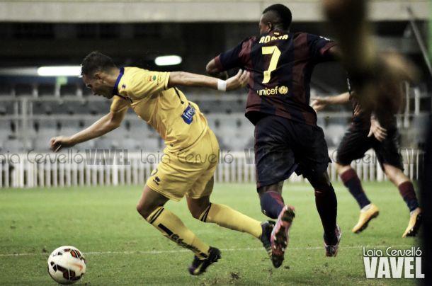 Fotos e imágenes del Barcelona B - Alcorcón (4-1), de la 9ª jornada de la Liga Adelante