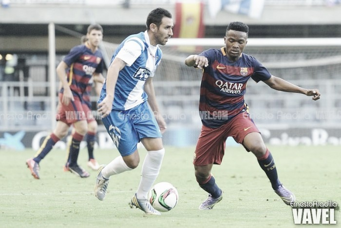 Resultado CD Alcoyano - FC Barcelona (3-3). Empate abultado en El Collao