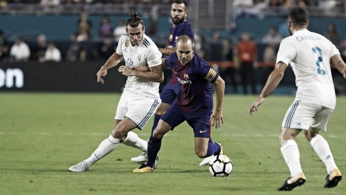 Em Miami, Barcelona supera Real Madrid e é campeão de torneio amistoso