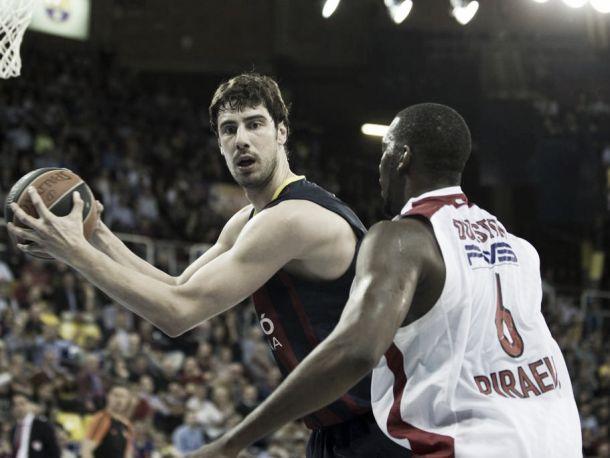 Olympiacos impone su dureza para igualar la serie en Barcelona