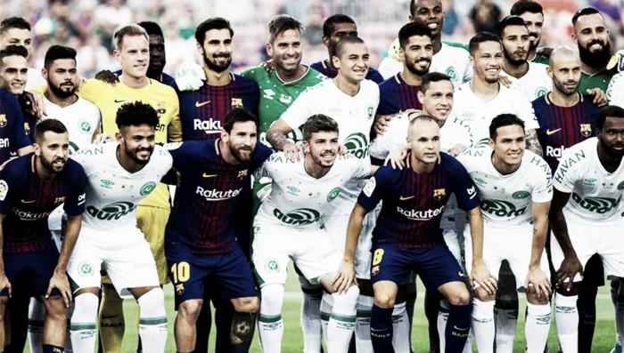 Barcelona y Chapecoense jugaron la Joan Gamper