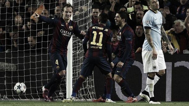 Il Barcellona domina e vola ai quarti: decide Rakitic
