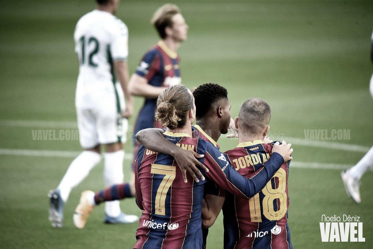 Previa FC Barcelona vs UD Levante: sumar como única opción
