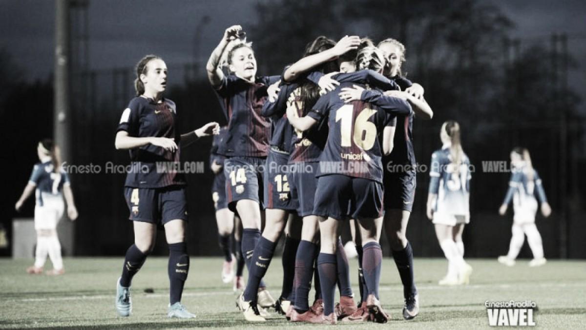 El FCB Femenino B, a un paso de conquistar la Liga