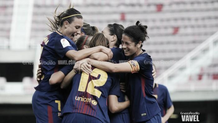El FC Barcelona femenino vence en Badajoz