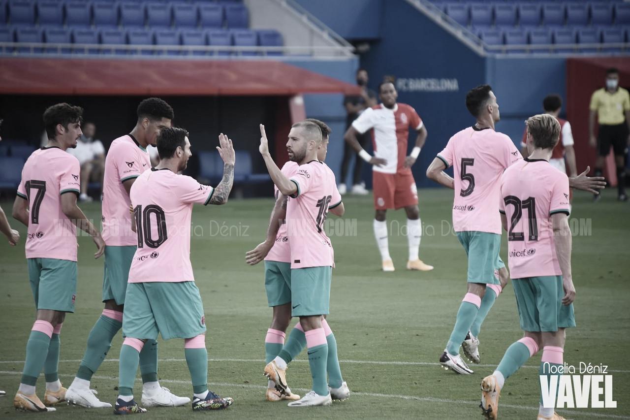Resumen Alavés vs Barcelona (1-1)