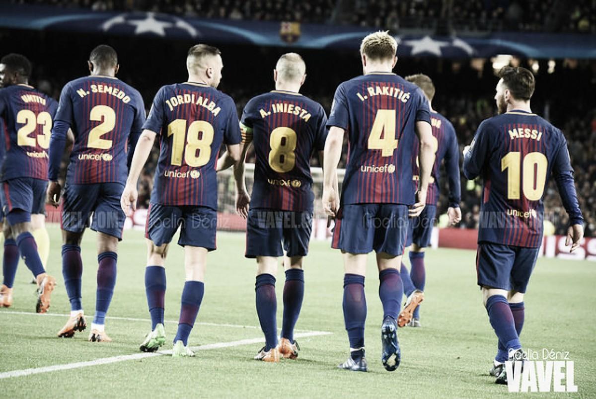 Mayoría azulgrana en el once ideal de Liga 2017/2018