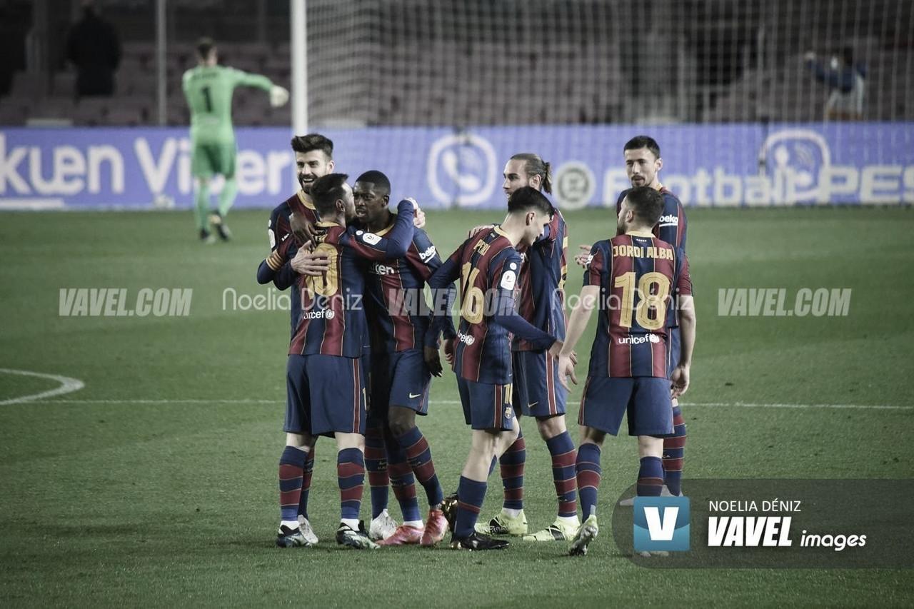 Resumen Barcelona vs Valladolid (1-0)