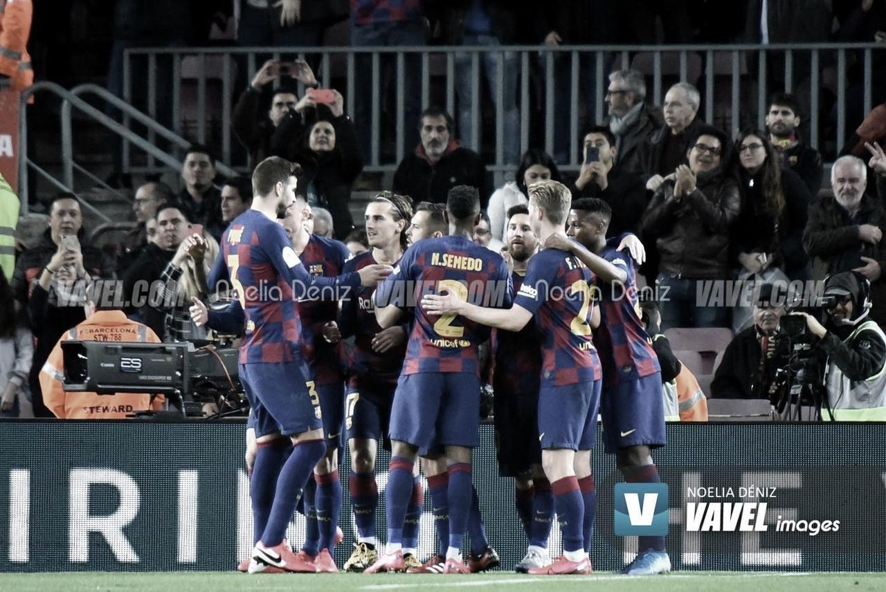 Vittorie di misura per Barcellona e Atletico