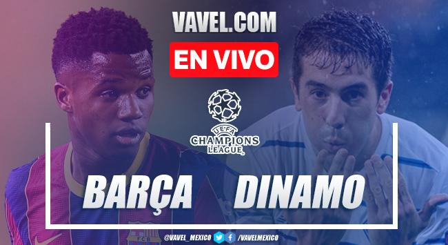 Goles y resumen del FC Barcelona 2-1 Dinamo Kiev en Champions League 2020