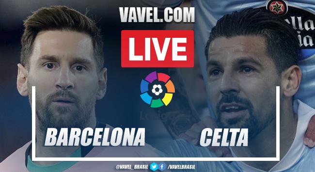 Gols e melhores momentos para Barcelona x Celta de Vigo por La Liga (1-2)