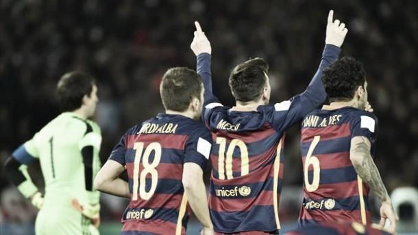 Messi e Suárez decidem: Barcelona é o novo Campeão do Mundial de Clubes